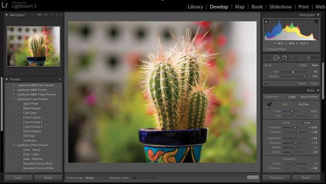 Photoshop Lightroom es la herramienta ideal para transformar la computadora en un laboratorio fotográfico.
