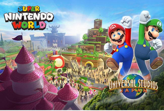 Super Nintendo World Sera El Parque Tematico De Nintendo En