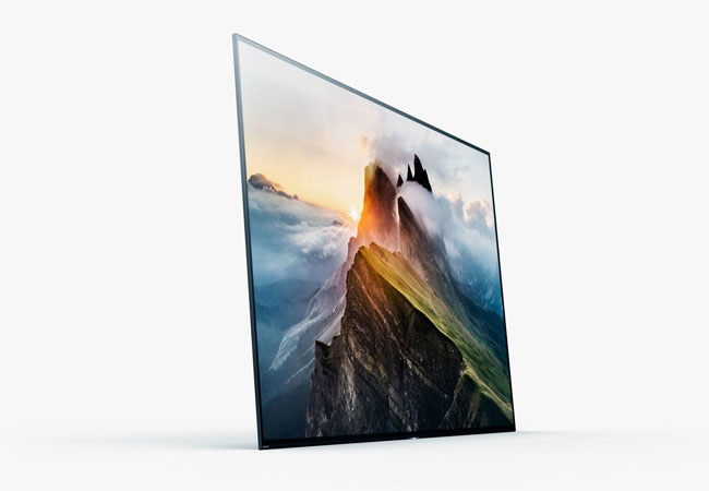 ces 2017 sony presenta televisores oled 4k que reproducen sonido a trav s de la pantalla redusers. Black Bedroom Furniture Sets. Home Design Ideas