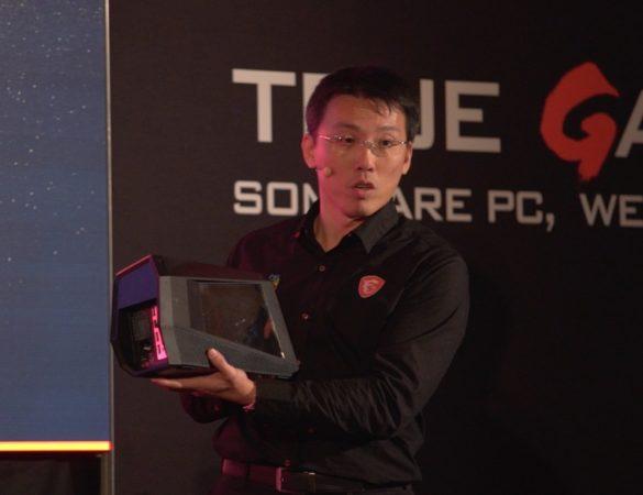 MSI GUS permite utilizar una GPU externa en laptops