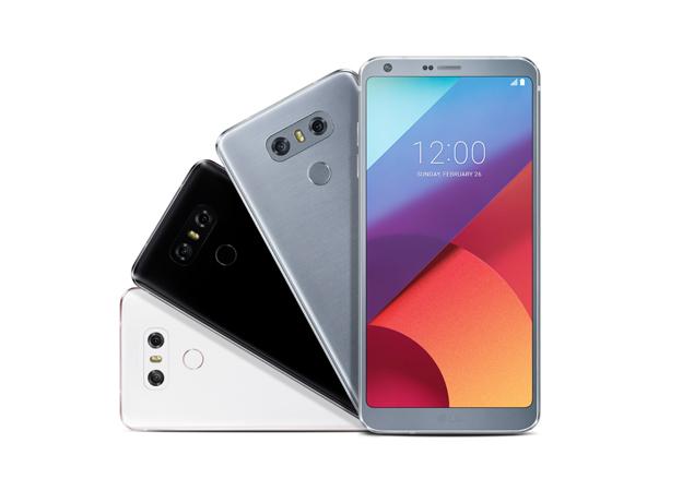 Los colores disponibles para el nuevo flagship de LG.