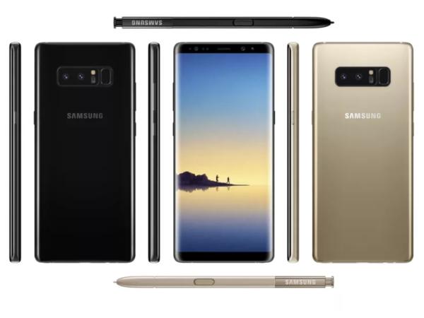 Cómo es el Galaxy Note 8