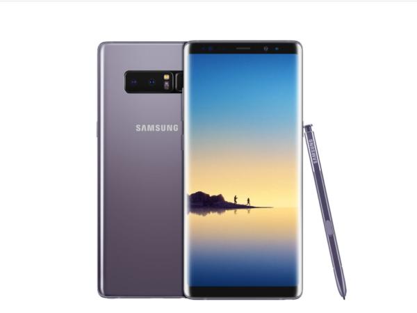 Especificaciones completas: Anuncian el nuevo Samsung Galaxy Note 8