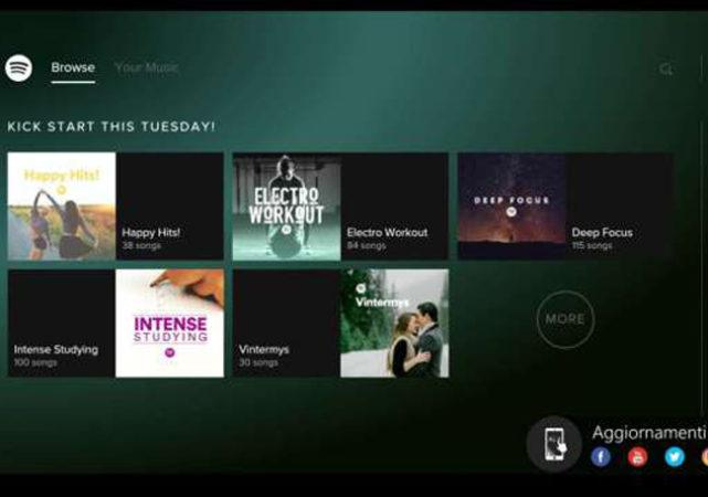 Spotify llega definitivamente a Xbox One