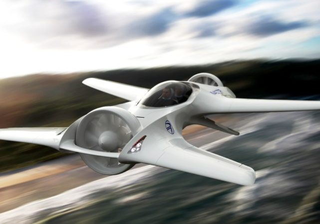 DeLorean vuelve al ruedo con un prototipo de auto volador