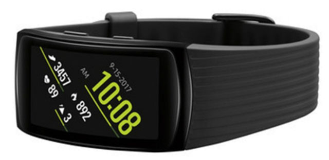Así lucirá el Gear Fit 2 Pro, siguiendo la filosofía de esta línea de wearables para fitness.