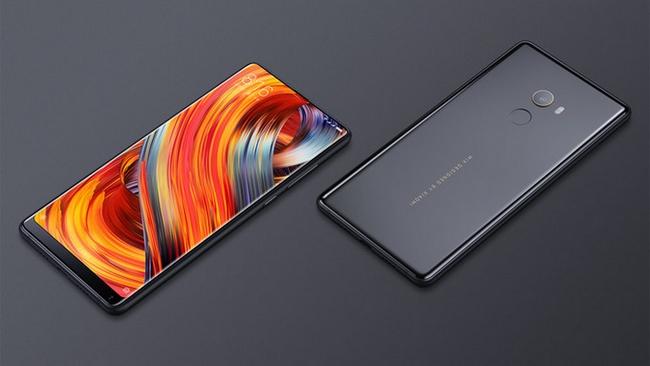 Así luce el modelo regular del Xiaomi Mi Mix 2.