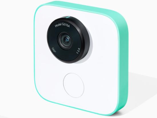 Google Clips, la cámara inteligente que toma fotos sola