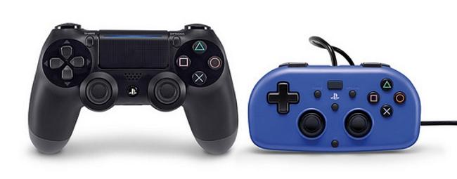 40 por ciento más compacto en relación al mando tradicional de la consola PS4.