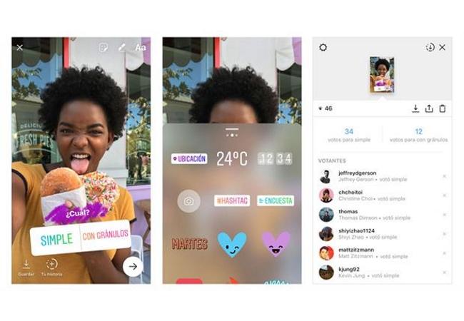 Instagram Stories ya permite realizar encuestas