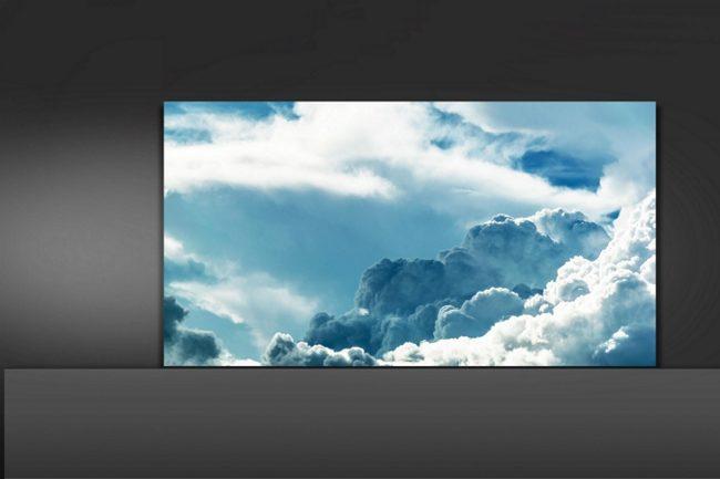 El nuevo televisor de Samsung es una pared