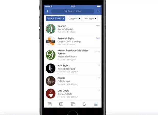 Facebook amplía su función de búsqueda de empleo a 40 nuevos países