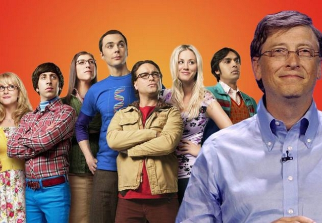Bill Gates participará en un episodio de The Big Bang Theory