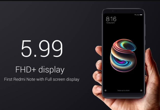 Xiaomi Hace Oficial El Redmi Note 4 Con Pantalla De 5 5 Y: Xiaomi Presentó El Redmi Note 5, Un Gama Media Con