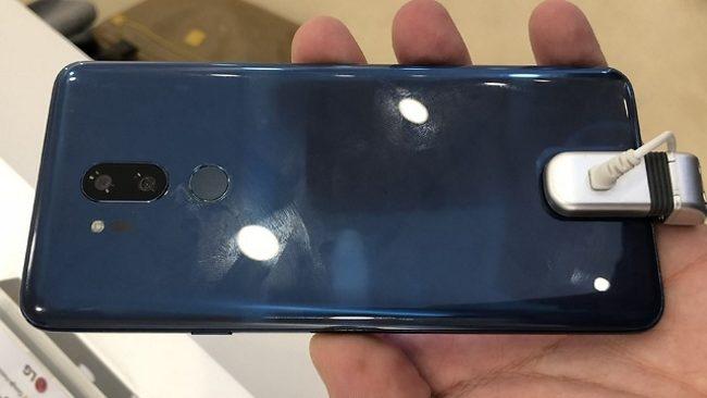 El sucesor del LG G6 contaría con una cámara doble en la cara posterior, donde también habría un lector de huellas circular.