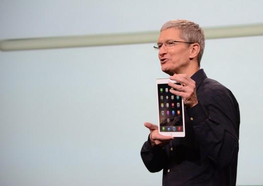 Apple presentó su iPad para colegios