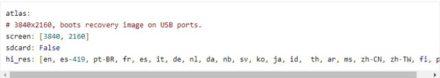 La captura del código fuente, en donde podemos encontrar referencias a esta nueva Chromebook en la que Google estaría trabajando.