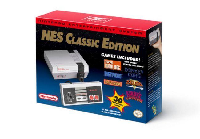 Nintendo anuncia el regreso de la NES Classic Edition