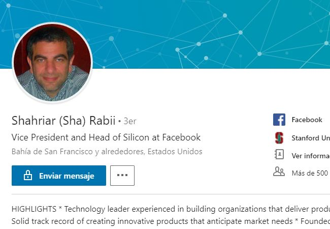 En LinkedIn se confirma la noticia del traspaso.
