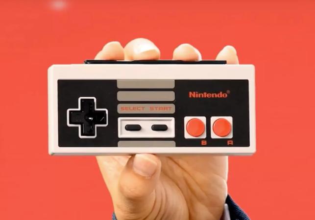Nintendo Anuncia Un Control Estilo Nes Para Su Consola Switch Redusers