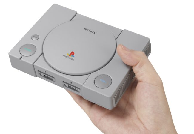 [VIDEO] Vuelve un clásico: Sony anuncia la Mini Playstation Classic