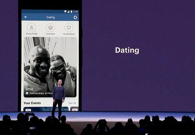 Así es Facebook Dating, la app de citas de Facebook.