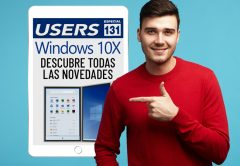 Tapa Informe USERS 131 Windows 10X todas sus novedades