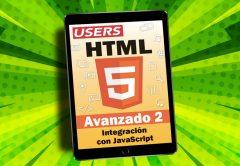 Tapa ebook HTML 5 Avanzado volumen 2