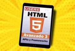 Tapa ebook HTML5 Avanzado volumen 3