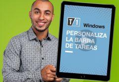 Cómo personalizar la barra de tareas de Windows