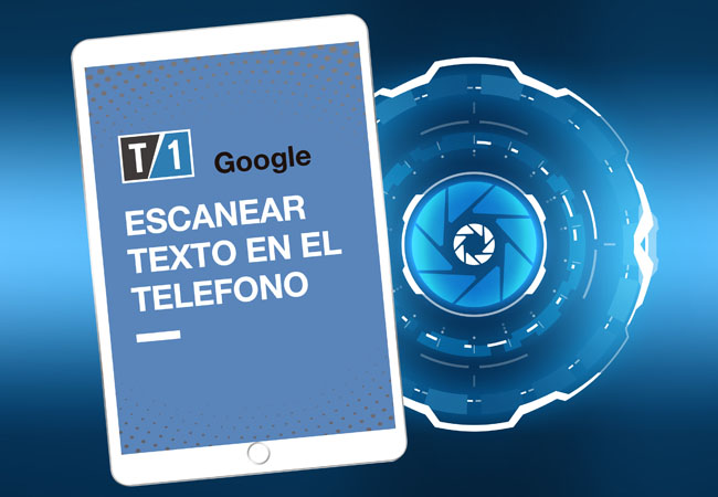 OCR con teléfono móvil y Google