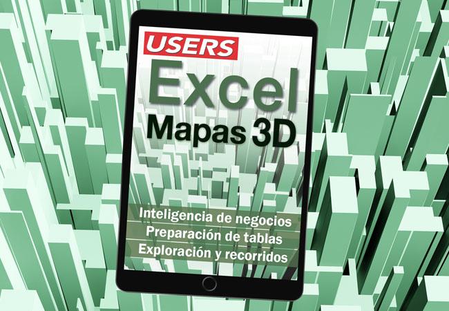 Tapa ebook Mapas 3D en EXCEL