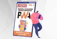 Tapa ebook PWA Desarrolla Aplicaciones Web Multi Dispositivos