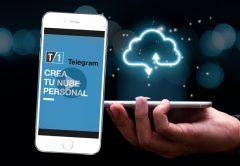 Caratula de la nota de como crear una nube personal con Telegram