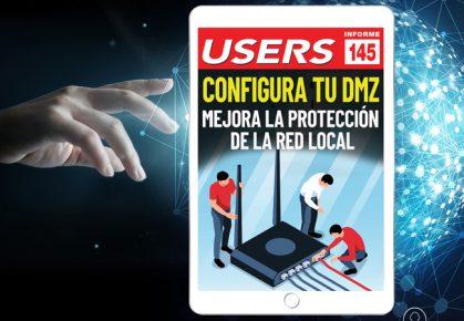 Tapa Informe USERS 145 Configura tu DMZ