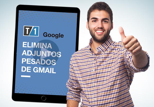 imagen portada de nota de como eliminar adjuntos pesados de Gmail