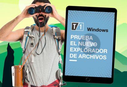 Imagen caratula de nota como probar el nuevo explorador de Windows