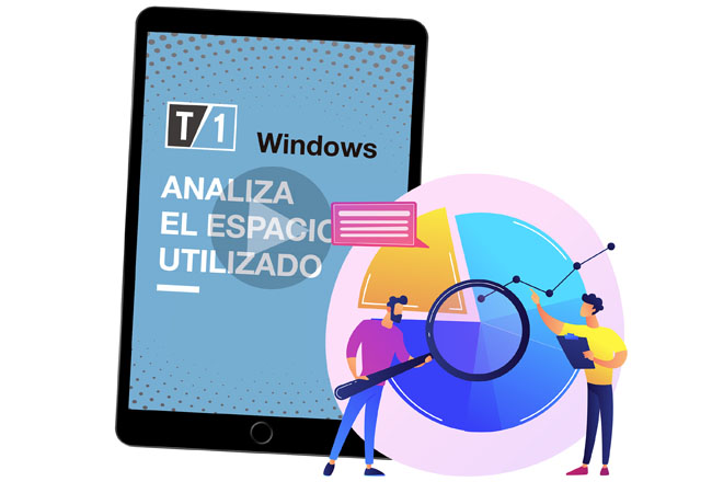 imagen portada de la nota de como analizar el espacio utilizado en windows