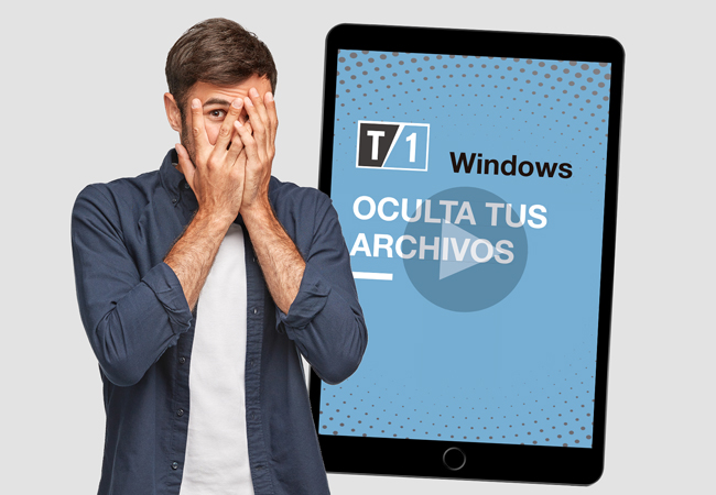 "imagen portada de nota, ""como ocultar mis archivos con windows"""