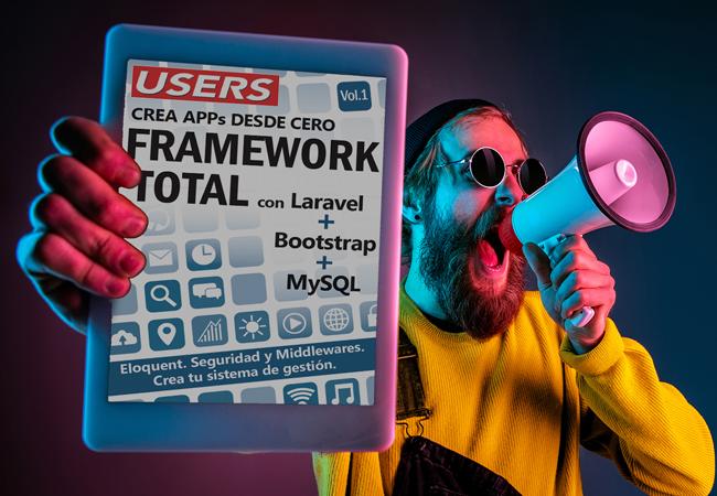Crea Apps desde cero Framework Total volumen 1