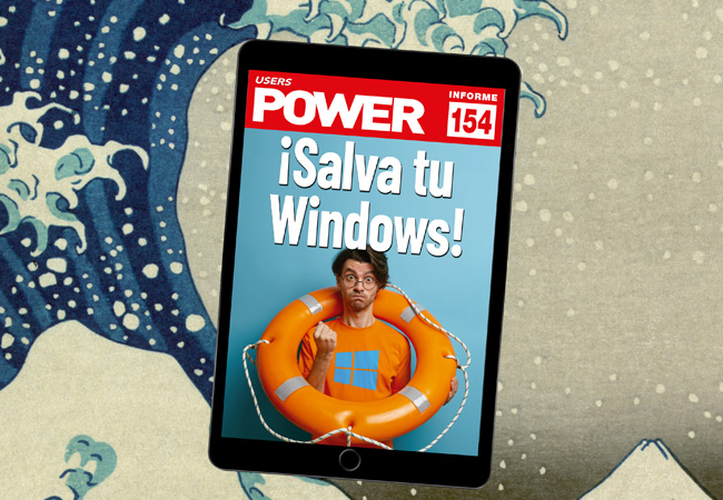 Tapa Informe USERS 154 ¡Salva tu Windows!