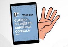 """Imagen portada de nota """"Cuatro formas de abrir una consola"""""""