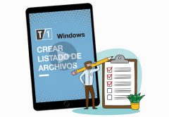 """Imagen de portada de la nota """"como crear un listado de archivos en Windows"""""""