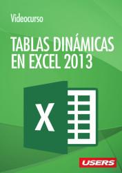 Tapa Videocurso - Tablas Dinamicas Excel 2013 - Caratula